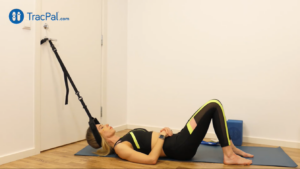 TracPal for neck stretch